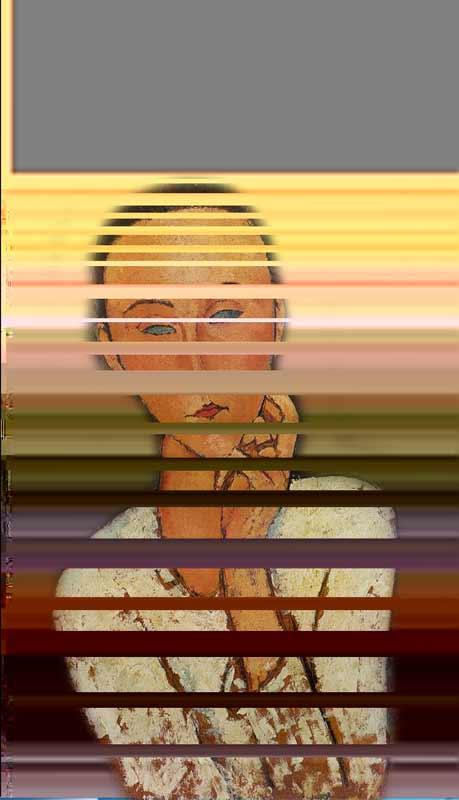 glitch, des erreurs rayonnnantes création numérique par veronique egloff