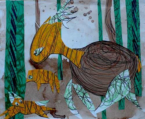 atelier gribouillis avec veronique egloff