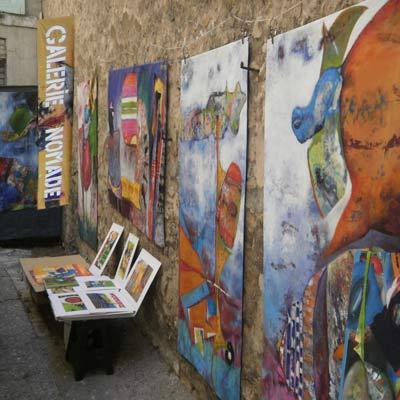 galerie-nomade-veronique egloff dans la rue
