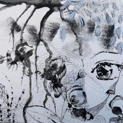 Confinement artistique 12 - 2020 - v.egloff (20x20 cm)
