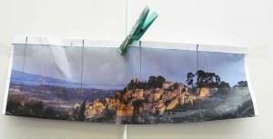 photo-inspiration du village de Bonnieux