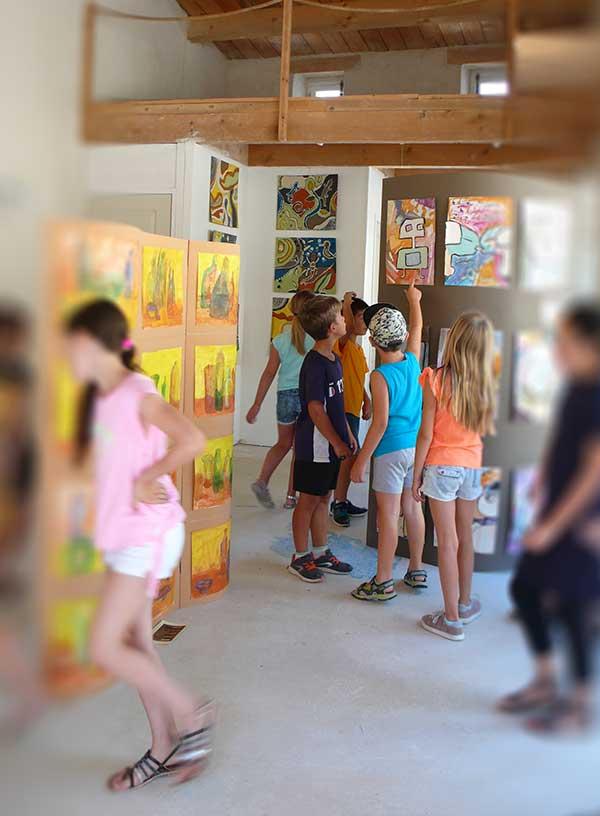 expo des enfants2017 de l'atelier de veronique egloff
